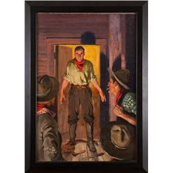 Stockton Mulford, oil on canvas
