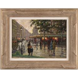 After Edouard Cortes, oil on canvas