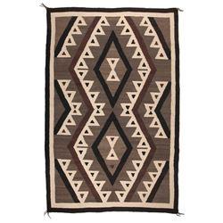 "Navajo Weaving, 6'7"" x 4'2"""