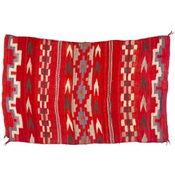 "Navajo Transitional Blanket, 2'10"" x 4'6"""