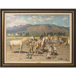 Tim Solliday, oil on canvas