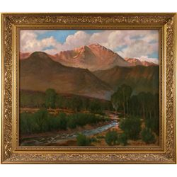 Charles Craig, oil on canvas