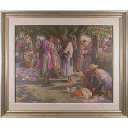 Ned Mueller, oil on canvas