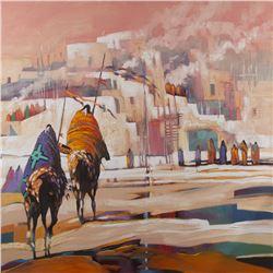 B.C. Nowlin, oil on canvas