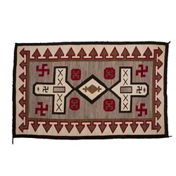 "Navajo Weaving, 7'4"" x 4'6"""