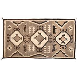 "Navajo Weaving, 6'1"" x 3'3"""