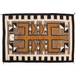 "Navajo Weaving, 4'8"" x 3'4"""