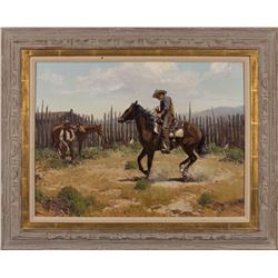 Jim Norton, oil on canvas