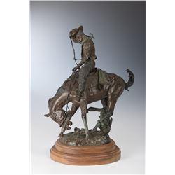 J. W. Hampton, bronze
