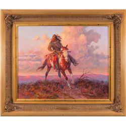 Roy Andersen, oil on canvas