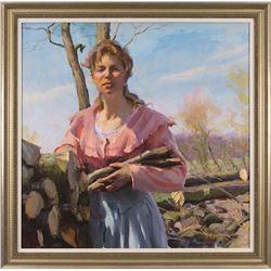Dan Gerhartz, oil on canvas