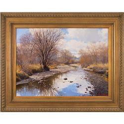 Francois Koch, oil on canvas