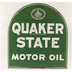 Quaker State Sign.