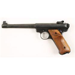 Ruger Mark II Target Cal: .22LR SN: 18-21554