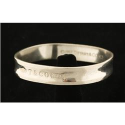 Tiffany & Co. Sterling Silver Bangle Bracelet