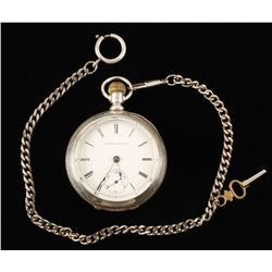 Illinois Watch Company Pocket Watch