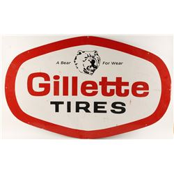 Gillette Tires Sign.