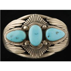 Traditional Native American Turquoise Cuff