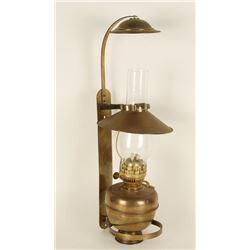 Brass Kerosene Lamp.
