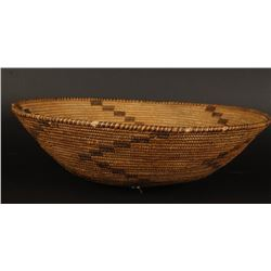 Large Apache Basket with Sterling Decoration