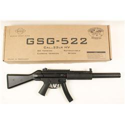 GSG Mdl 522 SD Cal .22 LR, HV SN: A356409