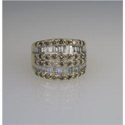 Striking Designer Inspired Diamond Ring.