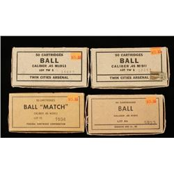 Lot of .45 Ball Match