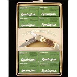 Commemorative Remington 22LR Ammo & Knife