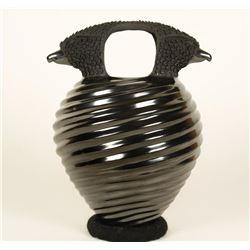 Double Eagle Blackware Pot