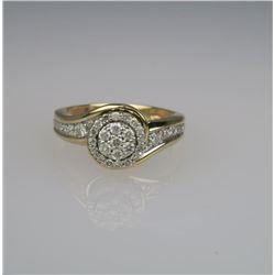 Charming Diamond Ring.