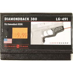 Diamondback 380 Crimson Trace