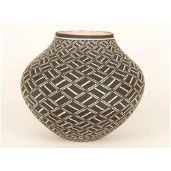 Acoma Polychrome Pot
