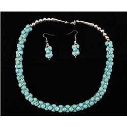Unique Turquoise Composite Necklace