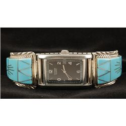 Watch Band by Navajo Charles Willie.