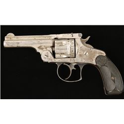 S&W Double Action Cal: .38S&W SN: 52734