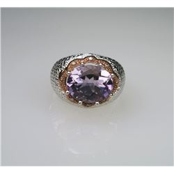 Dynamic Amethyst Ring.
