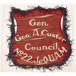 Custer Council Flag