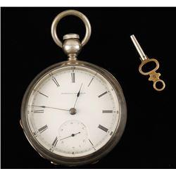 National Watch Company Pocket Watch.