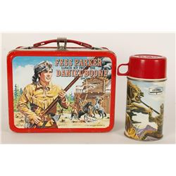 Fess Parker Daniel Boone Lunchbox with Thermos.