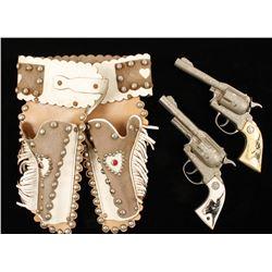 Hubley 'Texan Jr' Cap Gun with Holster & Belt