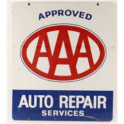 AAA Auto Repair Sign.