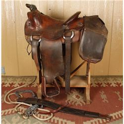 Texas Tanning & Mfg. Co. Saddle from Yoakum, TX