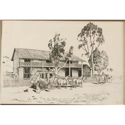 Fine Art Print of the Original Adobe