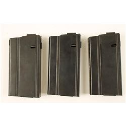Lot of 3 Armalite AR-10 Mags