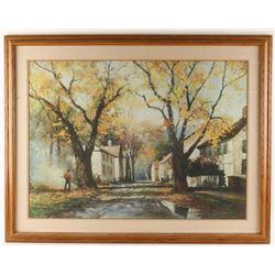 Fine Art Print by Robert Wood of European Village