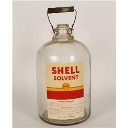 Glass One Gallon Shell Solvent Bottle
