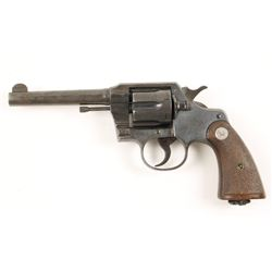 Colt Official Police 38-200 Cal: .38-200 SN: 8642