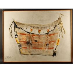 """Tempera on Paper by Paul Dyck """"Shaw Bag"""""""