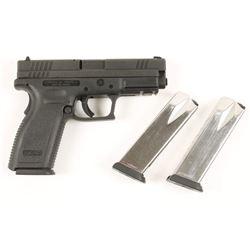 Springfield Armory XD9 Cal: 9mm SN: US 833405