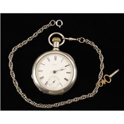 Waltham Open Faced Pocket Watch.